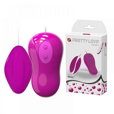 Cápsula Vibratória com 30 Modos de Vibração - PRETTY LOVE AVERY - OV018