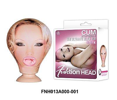 Cabeça Boneca Inflável Penetrável Fuktion Head Inflatable - NAN011