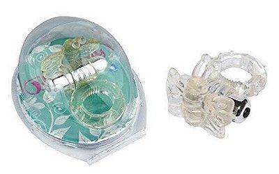 Anel Peniano com 7 Vibrações Estimulador Borboleta - 32008