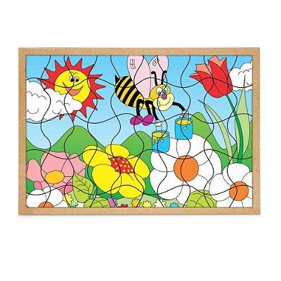 Quebra-Cabeça Natureza 50 peças- RR002046