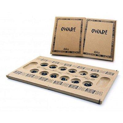 Oware - Jogo de Tabuleiro em Madeira - Mitra - RR005033