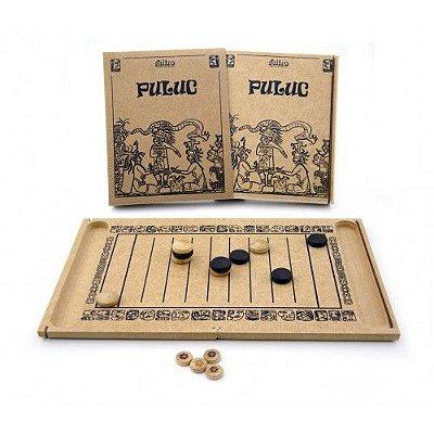 Puluc - Jogo de Tabuleiro em Madeira - Mitra - RR005040
