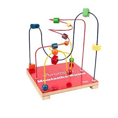 Aramado Montanha Russa - Borboleta - Brinquedo Pedagógico e Educativo - RR002089