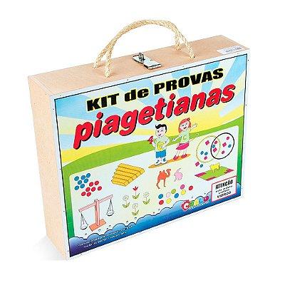 Kit de Provas Piagetianas - Material Pedagógico - RR002064
