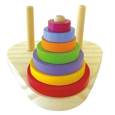 Torre de Hanoi - Um Jogo Educativo e Pedagógico - RR0033021