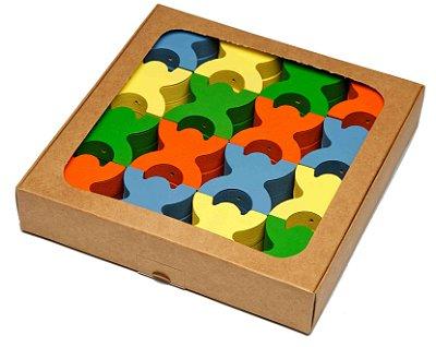 Brinquedo Pedagógico e Educativo - Equilibrista Colorido- RR001007