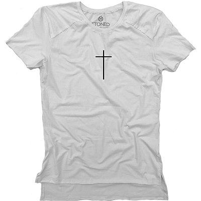 Camiseta Longline Gold Faith