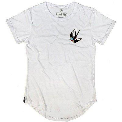 Camiseta Longline Free Bird