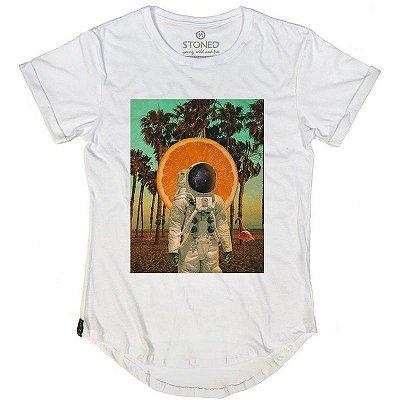 Camiseta Longline Verão no Espaço