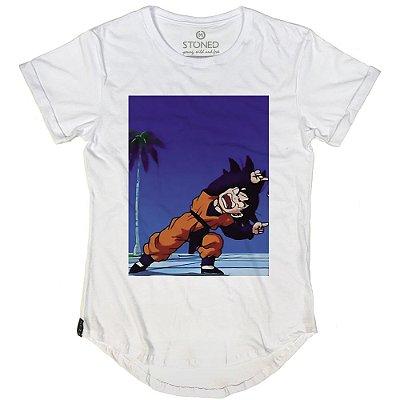 Camiseta Longline Goten