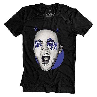 Camiseta Longline Gold Mac Miller
