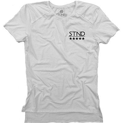 Camiseta Longline Gold Logo Five Stars