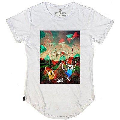 Camiseta Longline Welcome to Paradise