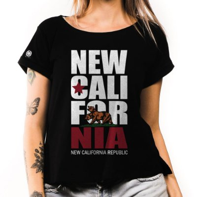 Camiseta Feminina California Republic