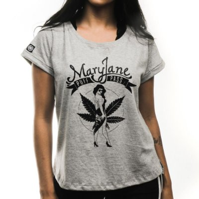 Camiseta Feminina Mary Jane