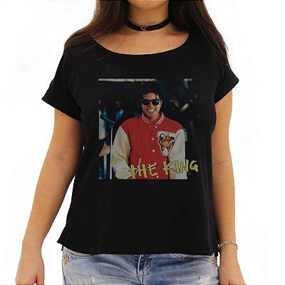 Camiseta Feminina Michael The King