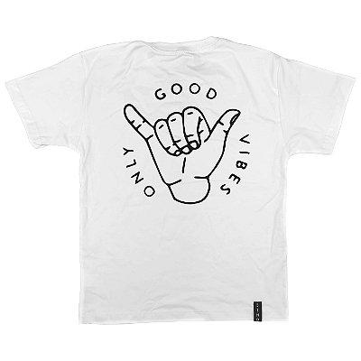 Camiseta Infantil Only Good Vibes