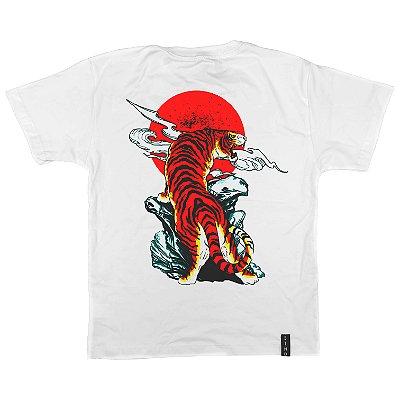 Camiseta Infantil Sunset Tiger