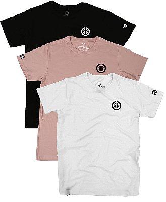 Kit - 3 Camisetas Confort Basic