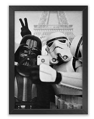 Quadro Star Wars Selfie