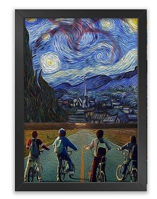 Quadro Stranger Things x Van Gogh