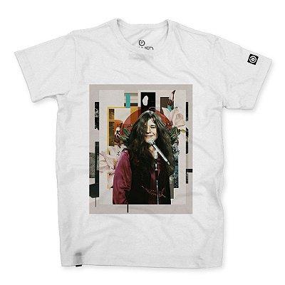 Camiseta Classic Janis Joplin Abstract