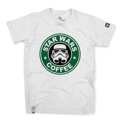 Camiseta Classic Star Wars Coffee