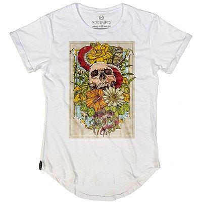 Camiseta Longline Wild Skull