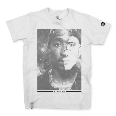 Camiseta Masculina 2Pac x Eminem