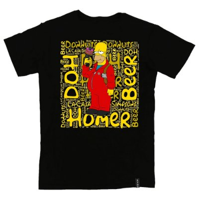 Camiseta Confort La Casa de Los Simpsons Homer