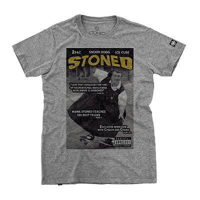 Camiseta Masculina Stoned Magazine