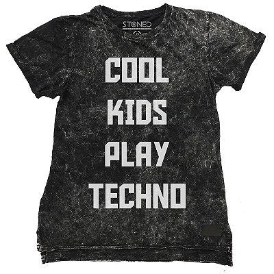 Camiseta Longline Estonada Cool Kids
