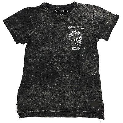 Camiseta Longline Estonada Mind