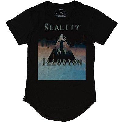 Camiseta Longline Reality