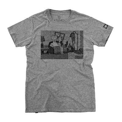 Camiseta Masculina Strange Simpsons