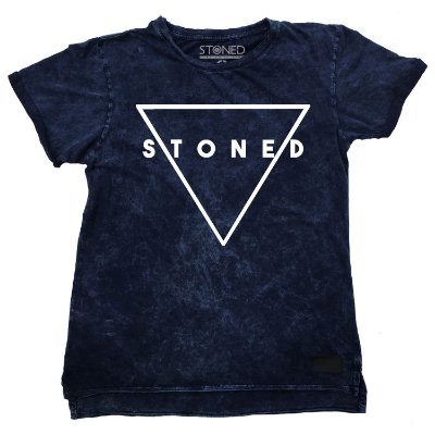 Camiseta Longline Estonada Triangle