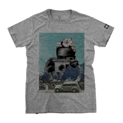 Camiseta Masculina Polaroid
