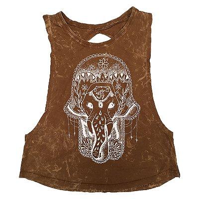 Regata Feminina Estonada Elephant Hamsa