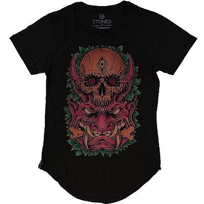 Camiseta Longline Devil