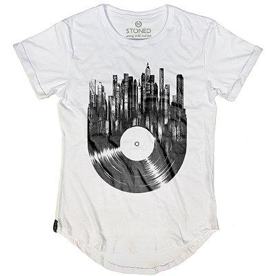 Camiseta Longline Vinyl City