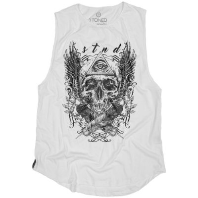 Regata Masculina Longline Third Eye