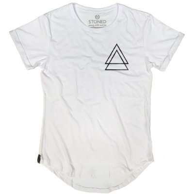 Camiseta Longline Triple Triangle