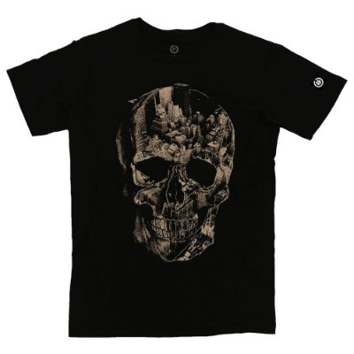Camiseta Masculina Dark City