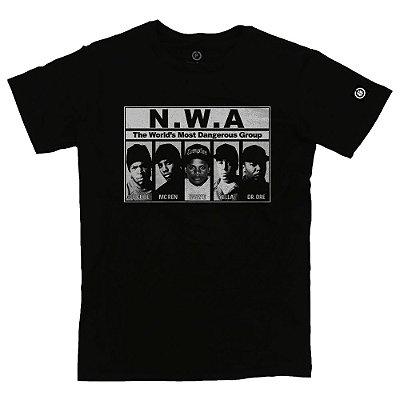 Camiseta Masculina NWA