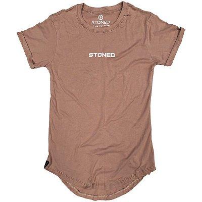 Camiseta Longline Pump Bege