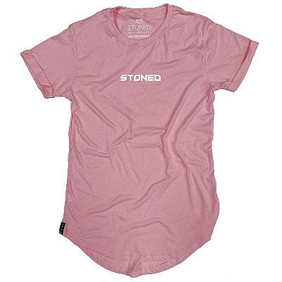 Camiseta Longline Pump Rosa