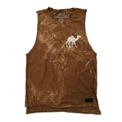 Regata Masculina Longline Camel