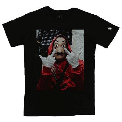 Camiseta Masculina La Casa de Papel