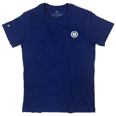 Camiseta Masculina Basic Azul