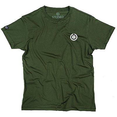 Camiseta Masculina Basic Verde